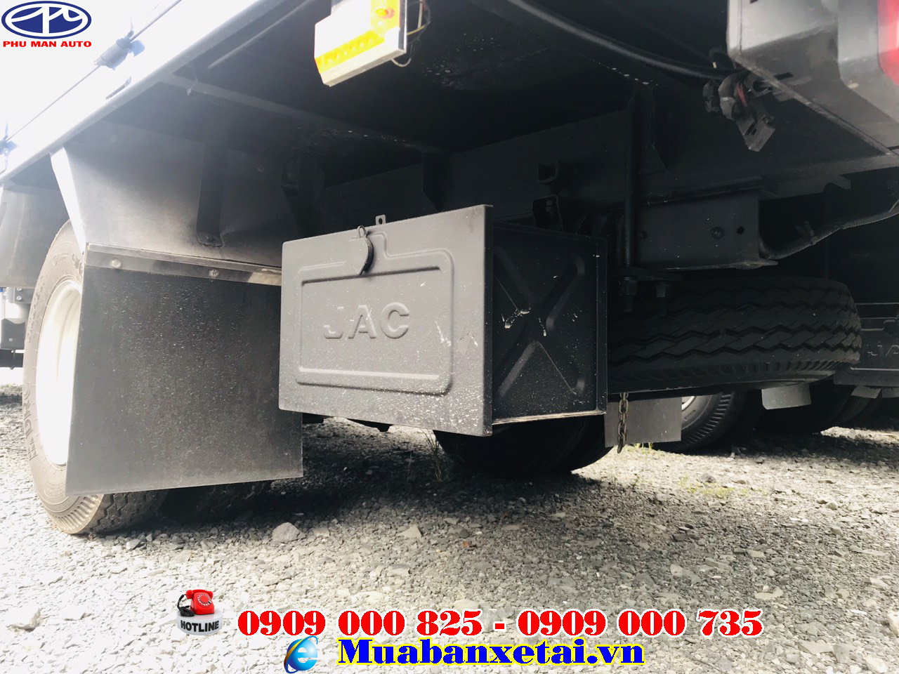 xe taie jac 990kg