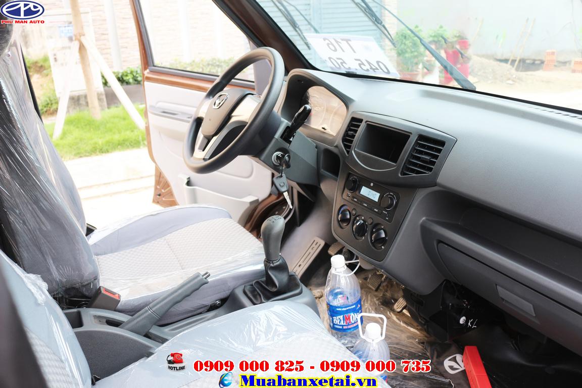 nội thất xe tải van kenbo 950kg