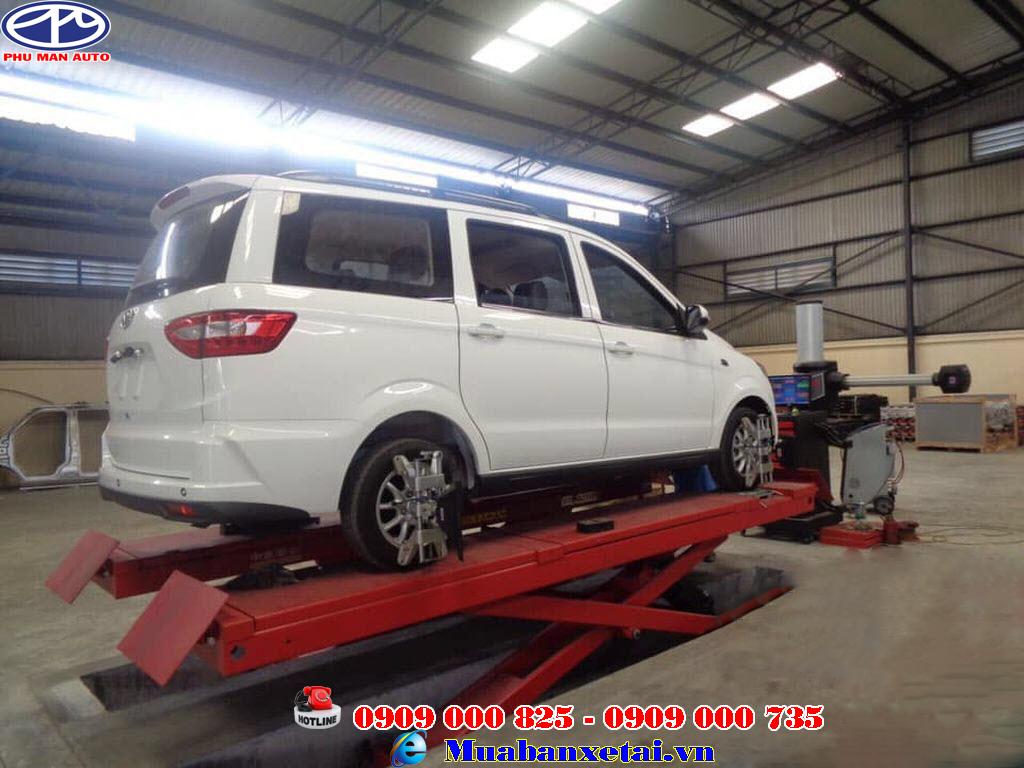 Xe tải Kenbo 7 chổ mang kích thước dài 4.520 x rộng 1.720 x cao1.785 m