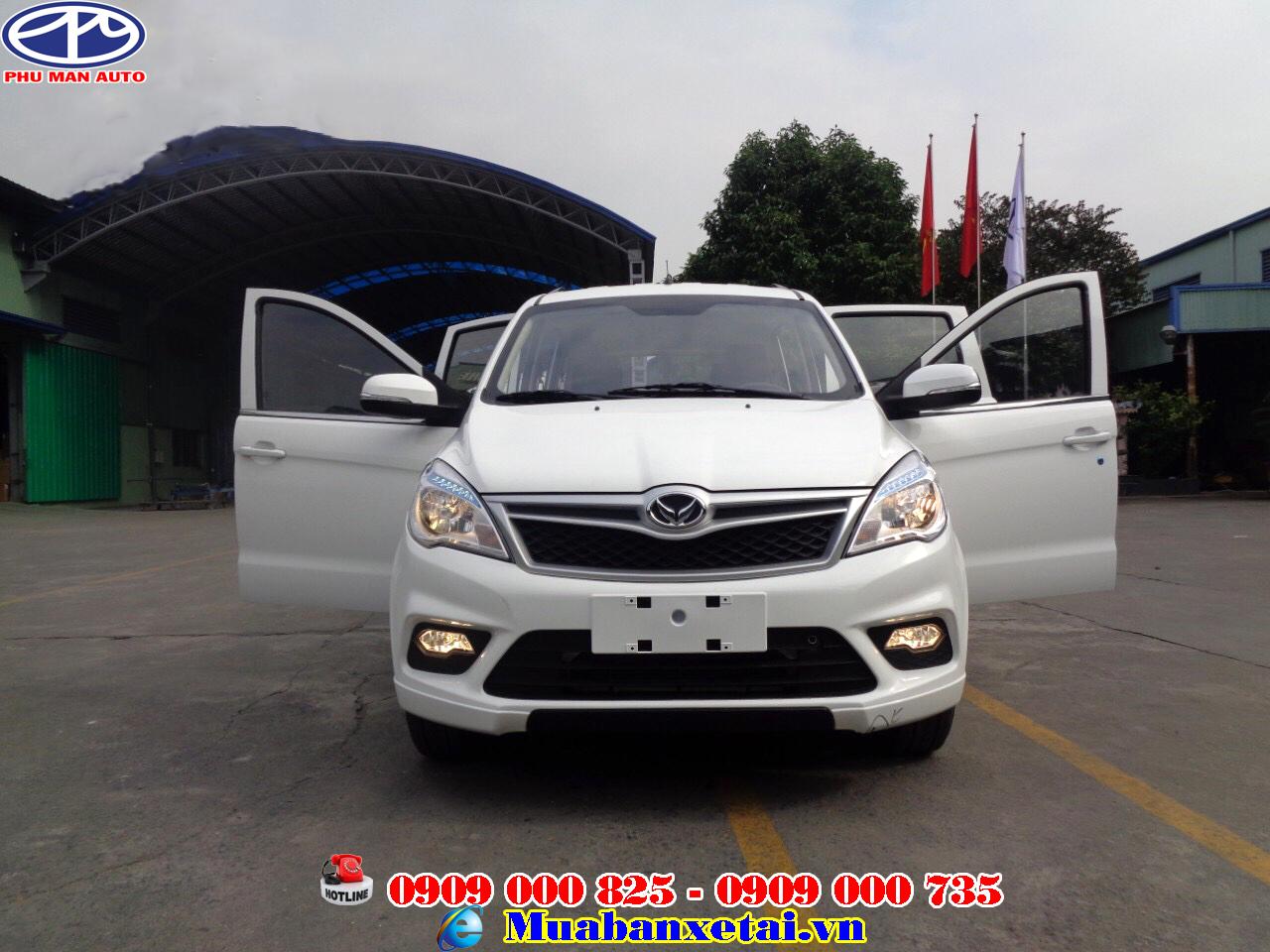 Hiện nay dòng xe Kenbo 7 chỗnày đang có ở Việt nam với số lượng hạn chế