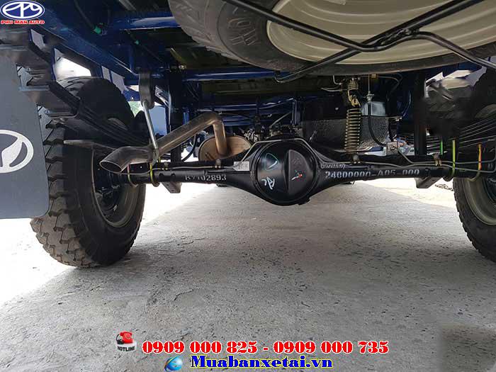Động cơ xe tải Kenbo 995kg thùng lửng