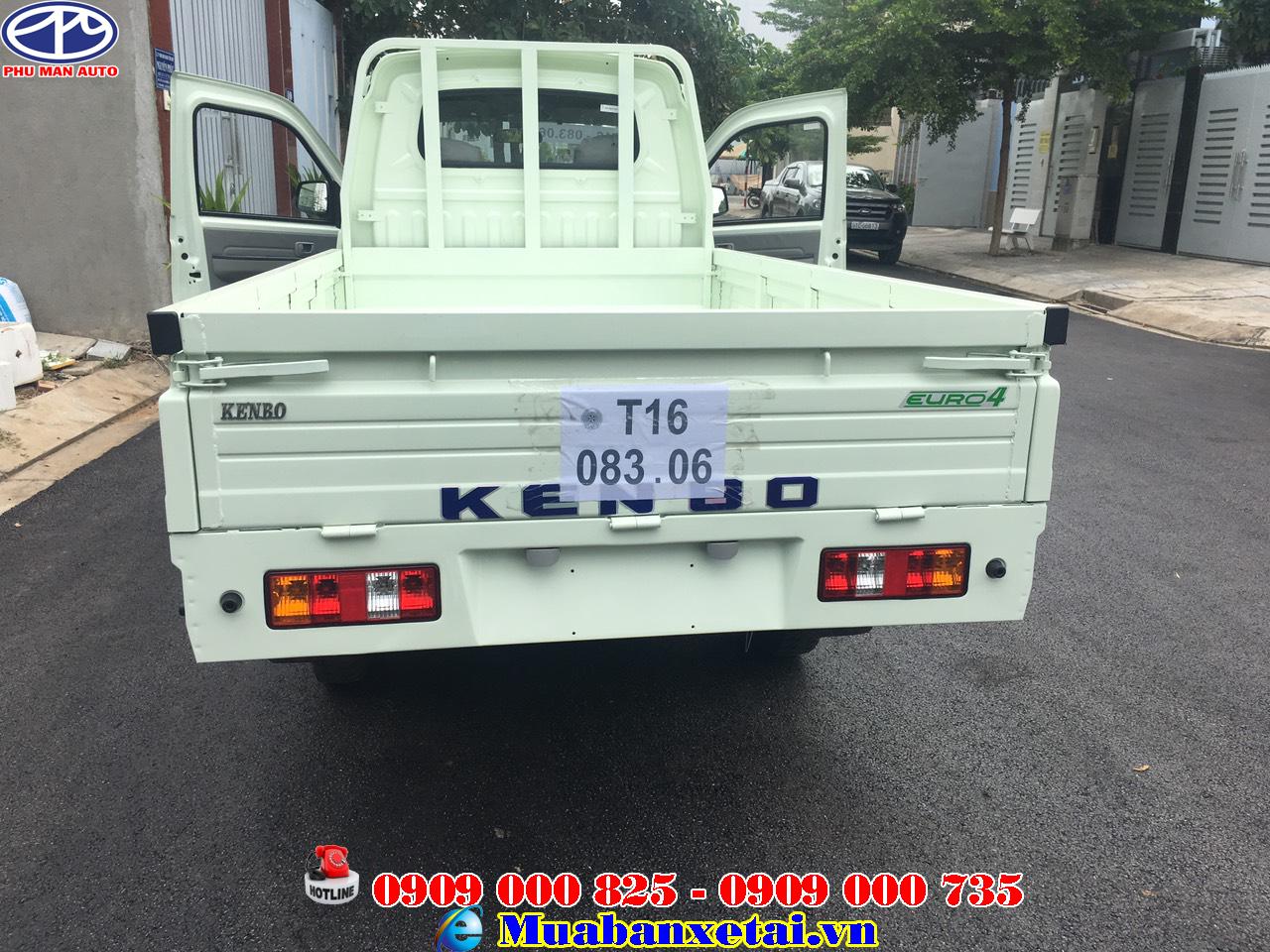 Ngoại thất xe tải kenbo 995kg thùng lửng