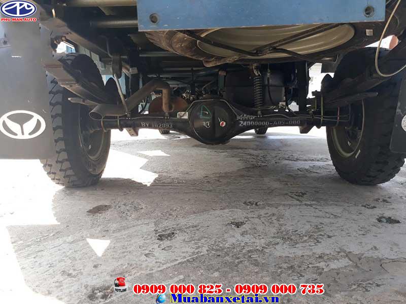 Động cơ xe tải Kenbo 900kg thùng kín