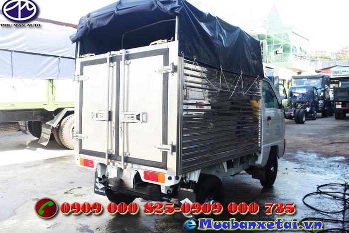Xe tải Suzuki 490kg thùng mui bạt