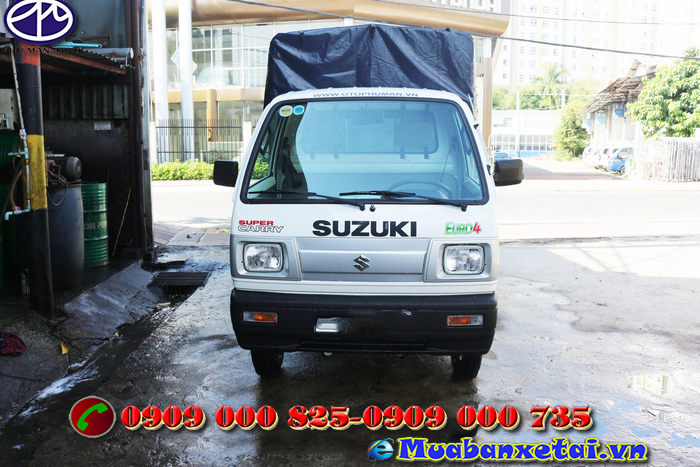 Toàn cảnh xe tải Suzuki 500kg