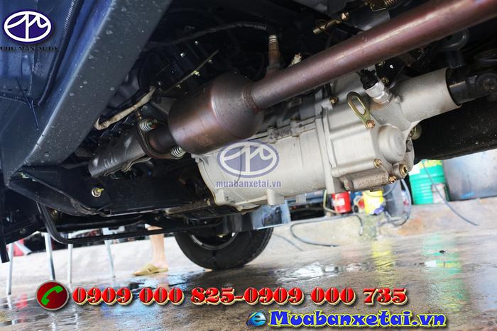 Xe tải thái lan DFSK 760kg thùng mui bạt
