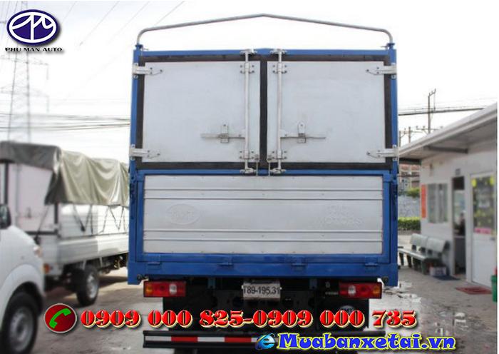 Ngoại thất xe tải Cửu Long TMT 2.4 tấn