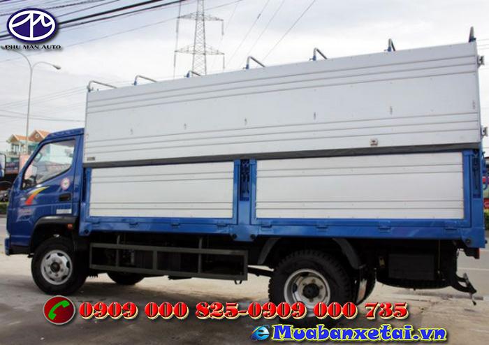 Xe tải Cửu Long TMT 2.4 tấn