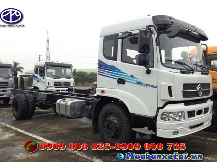 Xe tải Trường Giang DFM 13.5 tấn thùng kín