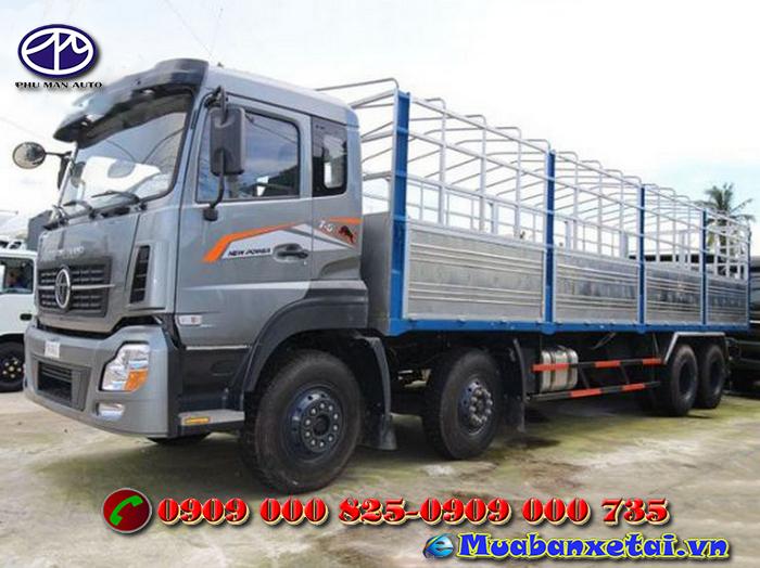 Xe tải Trường Giang DFM 17.99 tấn thùng mui bạt