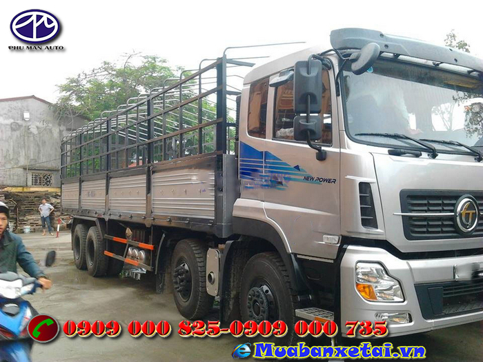 Xe tải Trường Giang 21,805 tấn thùng mui bạt