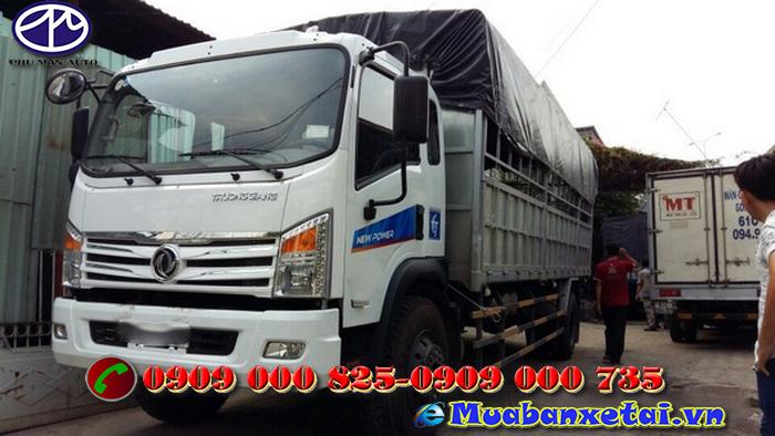 Xe tải Trường Giang DFM 7.4 tấn thùng mui bạt