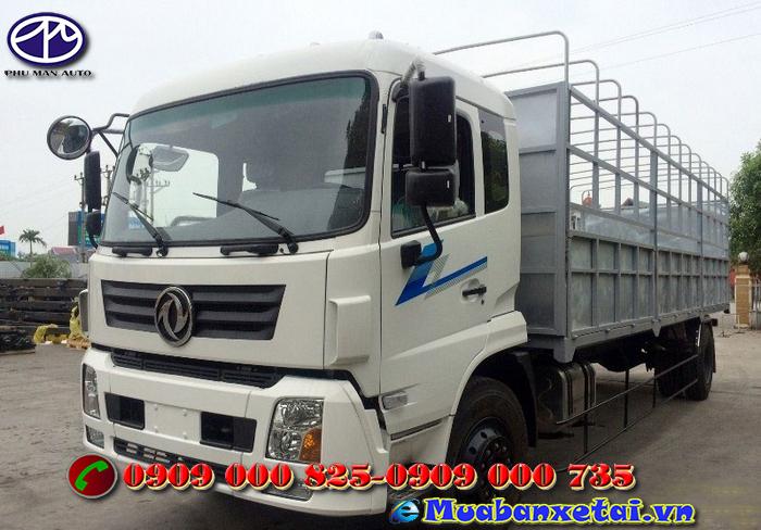 Xe tải Trường Giang DFM 8 tấn - 2 chân thùng mui bạt