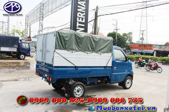 Xe tải Veam Star 820Kg thùng mui bạt