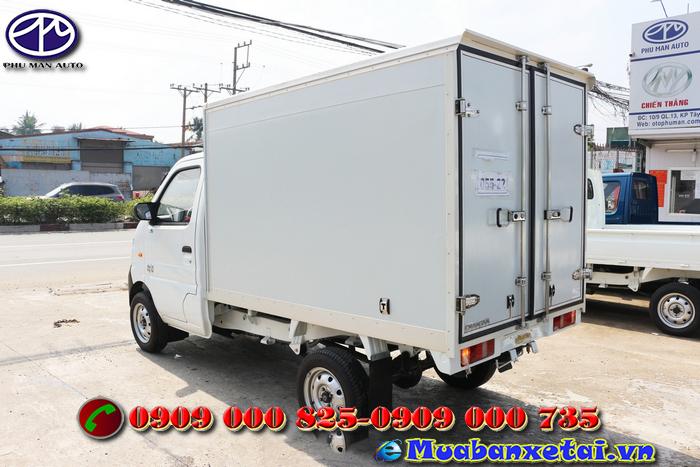 Xe tải Veam star 860kg thùng kín