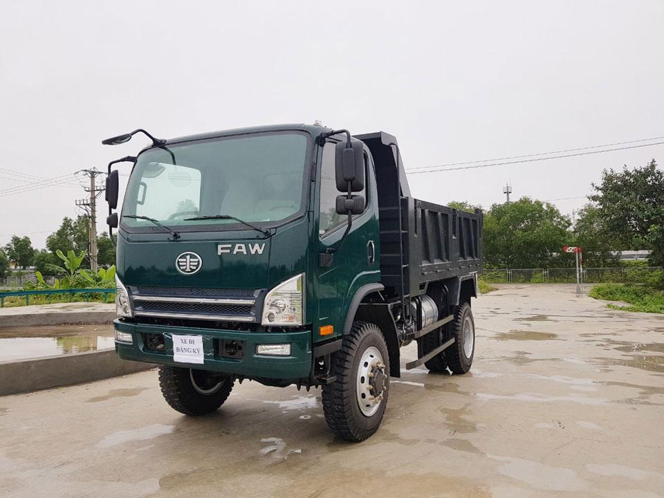 Ngoại thất xe ben Faw 7.9 tấn - 2 cầu