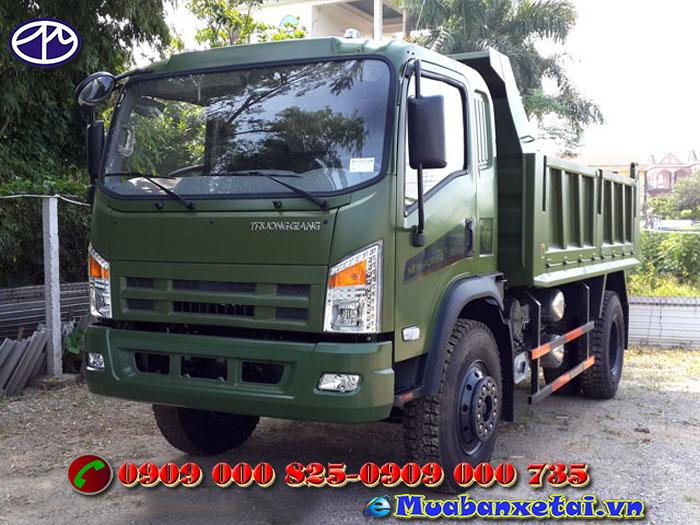 Xe tải ben Trường Giang 7.8 tấn - cầu dầu