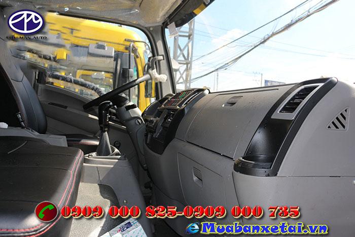 Xe tải ben Trường Giang 6.9 tấn
