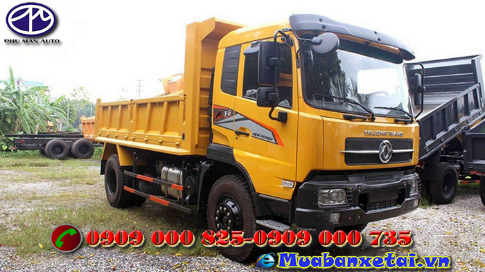 Xe tải ben Trường Giang DFM - 8.5 tấn