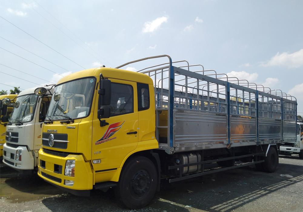 xe tải dongfeng -8 tấn thùng dài 9m5